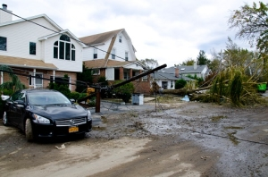 Bayville suffered significant damage during hurricane Sandy