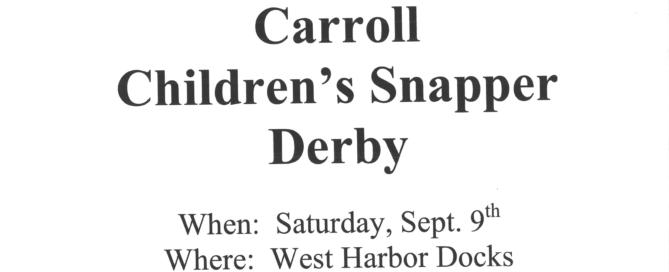 Children's Snapper Derby